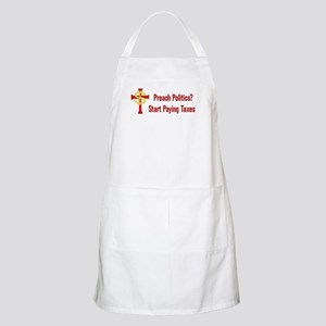 Tax The Churches Light Apron