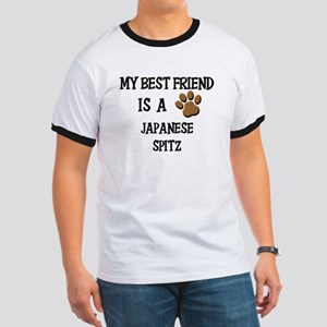 My best friend is a JAPANESE SPITZ Ringer T