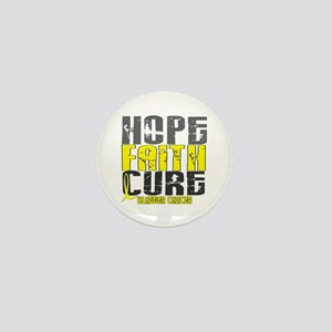 HOPE FAITH CURE Bladder Cancer Mini Button