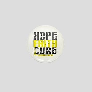 HOPE FAITH CURE Bladder Cancer Mini Button