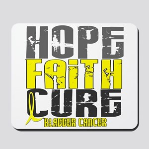 HOPE FAITH CURE Bladder Cancer Mousepad