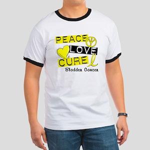 PEACE LOVE CURE Bladder Cancer (L1) Ringer T