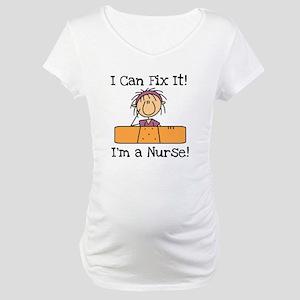 Fix It Nurse Maternity T-Shirt