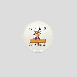 Fix It Nurse Mini Button