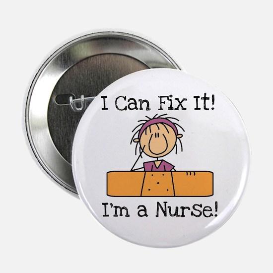 "Fix It Nurse 2.25"" Button"