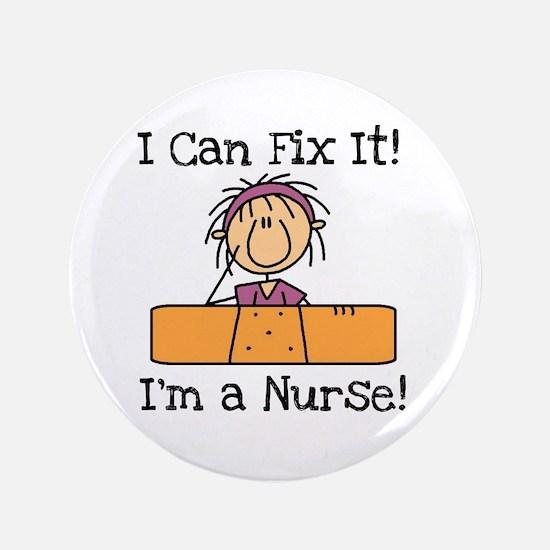 "Fix It Nurse 3.5"" Button"