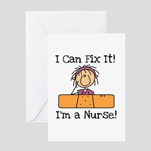 Fix It Nurse Greeting Card