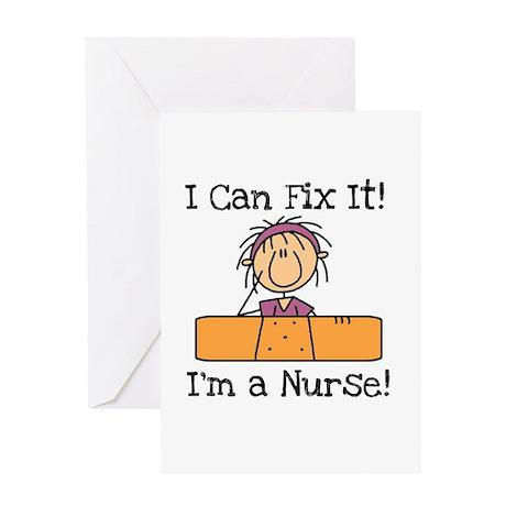 Fix It Nurse Greeting Card