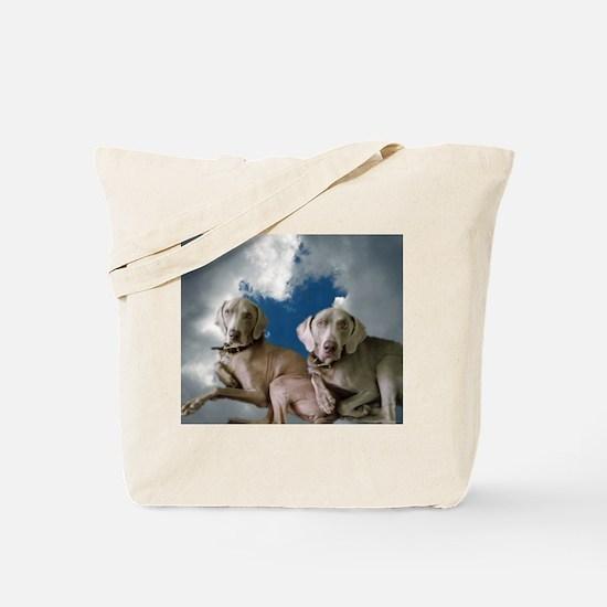 Funny Weimaraner Tote Bag