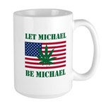 Let Michael Be Michael Large Mug
