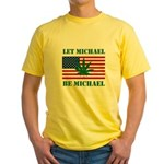 Let Michael Be Michael Yellow T-Shirt
