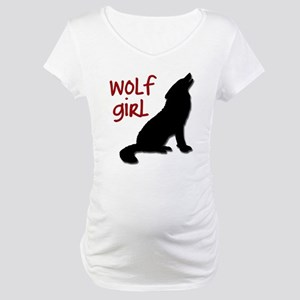 Wolf Girl Maternity T-Shirt