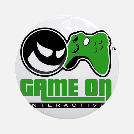 Game On Ornament (Round)