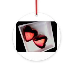 valentines Ornament (Round)