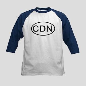 Canada - CDN - Oval Kids Baseball Jersey