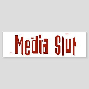 Media Slut Bumper Sticker