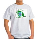 New Orleans Lawn Art Ash Grey T-Shirt