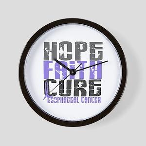HOPE FAITH CURE Esophageal Cancer Wall Clock