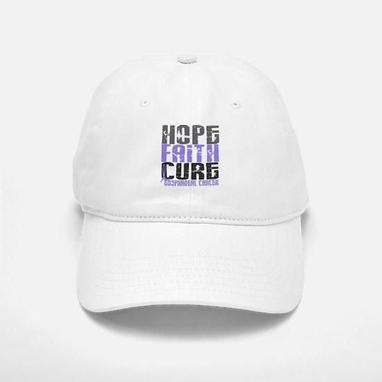 HOPE FAITH CURE Esophageal Cancer Baseball Baseball Cap