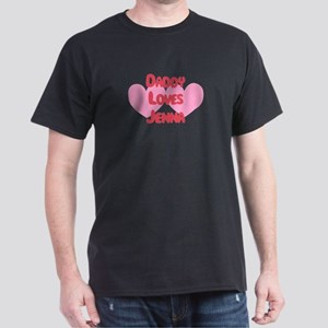 Daddy Loves Jenna Dark T-Shirt