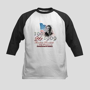 26th President - Kids Baseball Jersey