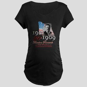 26th President - Maternity Dark T-Shirt