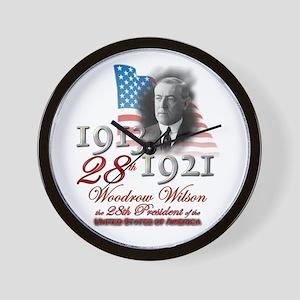 28th President - Wall Clock