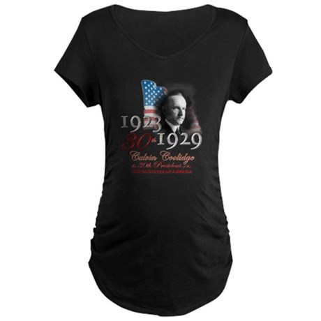 30th President - Maternity Dark T-Shirt