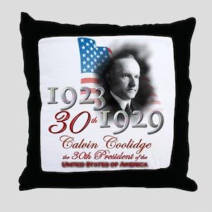 30th President - Throw Pillow