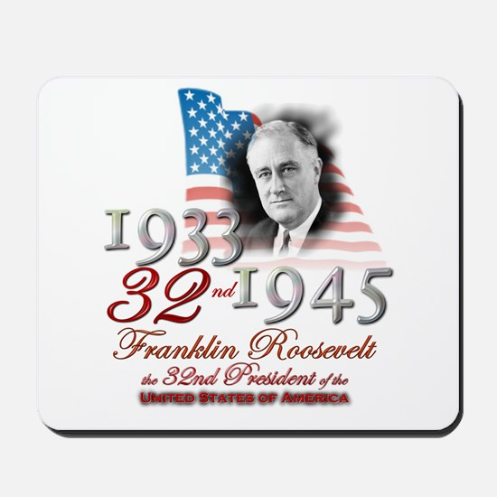 32nd President - Mousepad