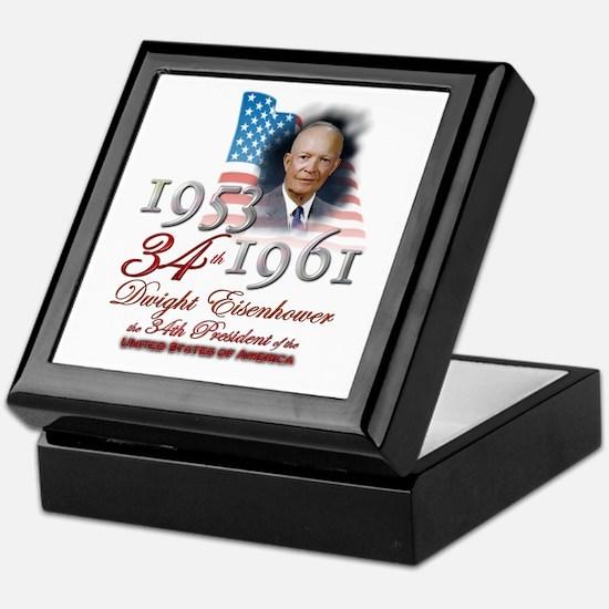 34th President - Keepsake Box