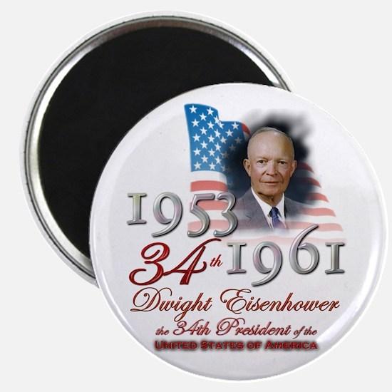 34th President - Magnet