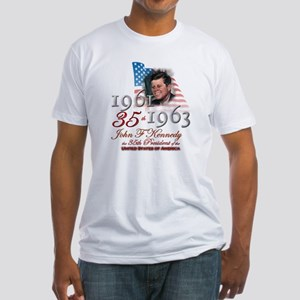35th President - Fitted T-Shirt
