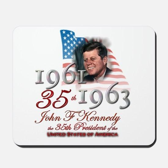 35th President - Mousepad