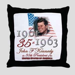 35th President - Throw Pillow