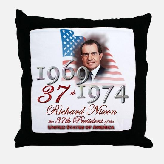 37th President - Throw Pillow