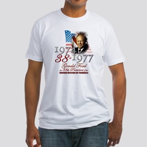 38th President - Fitted T-Shirt