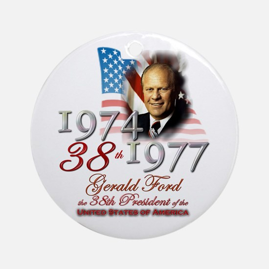 38th President - Ornament (Round)