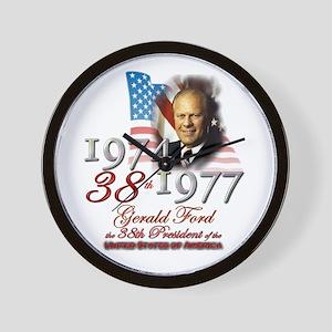 38th President - Wall Clock