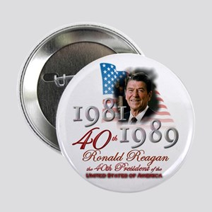 "40th President - 2.25"" Button"