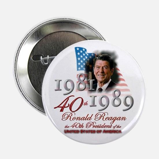 "40th President - 2.25"" Button"