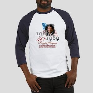 40th President - Baseball Jersey
