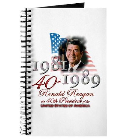 40th President - Journal