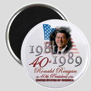 40th President - Magnet