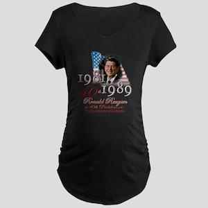 40th President - Maternity Dark T-Shirt