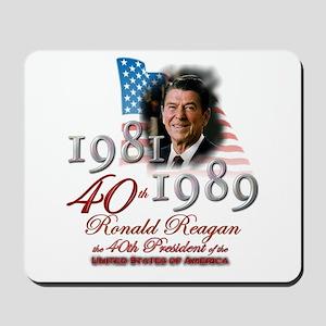 40th President - Mousepad