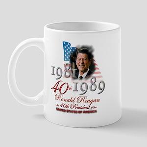 40th President - Mug