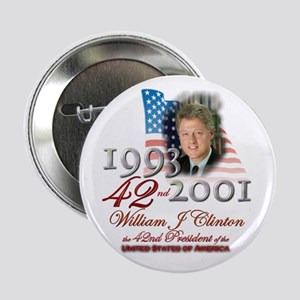 "42nd President - 2.25"" Button"