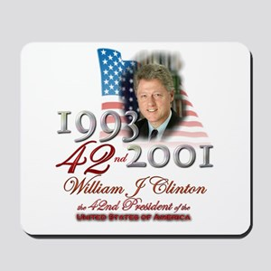42nd President - Mousepad