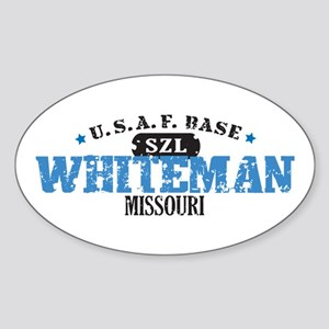 Whiteman Air Force Base Oval Sticker